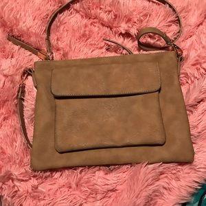 Shiraleah Tan Crossbody Bag